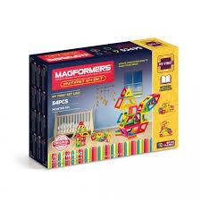 Купить <b>Конструктор Magformers Магнитный My</b> First 54 63108 в ...