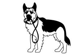 Free german shepherd dog vector download in ai, svg, eps and cdr. German Shepherd Silhouette Svg Free Svg Cut Files Create Your Diy Projects Using Your Cricut Explore Silhouette And More The Free Cut Files Include Svg Dxf Eps And Png Files