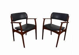arm chairs dining room furniture lovely teak arm chair erik buck danish modern od mobler dining