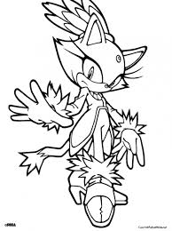 Small Picture Rogue In Sonic The Hedgehog Coloring Page To Print Online