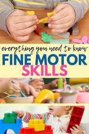 fine motor skills the ot toolbox