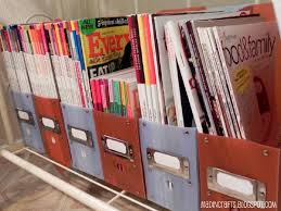 Dollar Store Magazine Holder Inspiration 32 Dollar Store Organizing Ideas And Projects For The Entire Home
