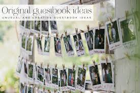 photo guest sign in book 18 unusual and creative guest book ideas smashing the glass