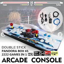 New Pandora Box 6s <b>2222</b> in 1 Retro Video <b>Games Double</b> Stick ...