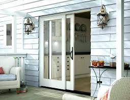 replacing sliding glass door with french doors installing a sliding glass door large size of to