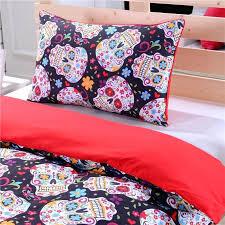 skull comforters sugar sheets blankets