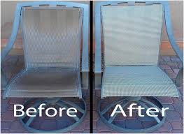 patio chair replacement slings before after