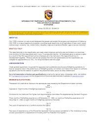 Firefighter Resume Objective Examples