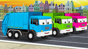 trucks pictures to color. Modren Pictures Learn Colors With Garbage Trucks For Kids U0026 Color Garage  Video  Children  YouTube Intended Pictures To N