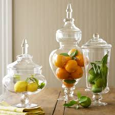 Decorative Things To Put In Glass Jars Decorating With Apothecary Jars Decoration Kitchens And Room 13