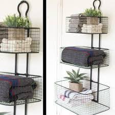 tier wall baskets wire basket storage