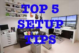 stylish office desk setup. Stylish Computer Desk Setup Ideas With Top 5 Tips For The Best Ultimate Youtube Office O
