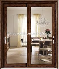 Glass door designs for drawing room aluminium sliding living