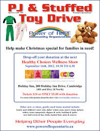 healthy choices wellness show sept th power of hope pj and stuffed toy drive flyer and healthy choices wellness show information