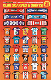 Football League Table Wall Chart Football League Table Wall Chart Football Barclays