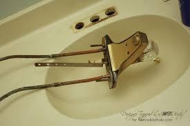Diy Bathroom Faucet Diy Bathroom Countertop Removal