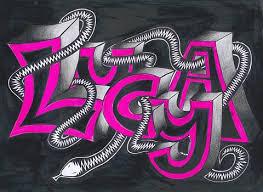 Lucya Graffity Různě Malované Mé Jméno Lucie Galerie Lucinky Blog