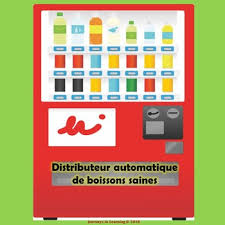 French Vending Machine Classy Healthy Drinks Vending MachineFRENCH By Journeys In Learning TpT