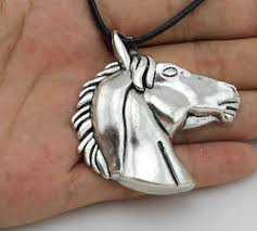 vintage silver big horse head pendant necklace redhill deals best deals on stuff you love for less