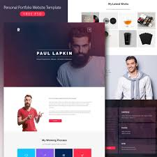 Resume Website Template Personal Portfolio Website Template Free PSD Download Download PSD 31