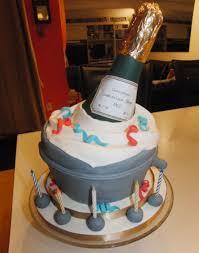 Champagne Bottle And Cake Make In Fondant Cakecentralcom