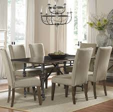 Dining Table With Upholstered Chairs
