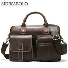 briefcases male genuine leather men bags for doent leather laptop bag messenger bag men shoulder bags office man handbags small briefcase womens leather