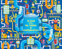 """Je joue avec les tables de multiplication"""" - Éditions Usborne"""