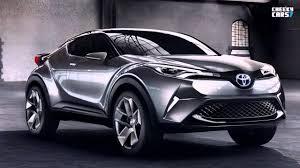 Toyota CHR Concept 2015 / 2016 new Toyota C HR hybrid crossover ...