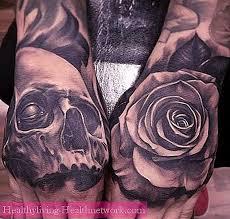 Tetování Lebky Na Zápěstí Hodnota Pro Muže A ženy Péče O Pleť 2019