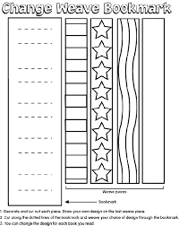 Small Picture weave bookmark coloring page crayolacom make your own coloring