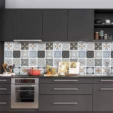 Buy Gray Kitchen Wallpaper Peel and ...