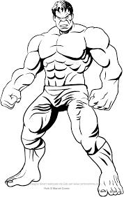 Colorare Hulk Fredrotgans