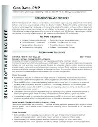 Experienced Resume Samples For Software Engineers