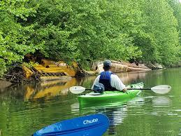 Questionable Erosion Control Method Kayaking