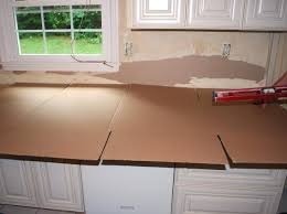 use cardboard or other thin material to create your template for your granite countertop