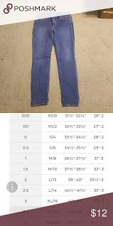 So Slimming By Chico S Size Chart So Slimming Jeans By Chicos In Great Condition Size 0 5