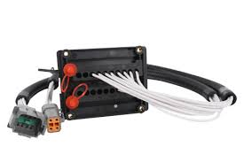 automotive wire harnesses custom wire harnesses industrial terminal block for waterproof automotive connectors
