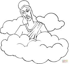 Small Picture Coloring Pages Cute Clouds Coloring Page Stock Vector Image Rain