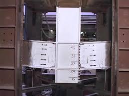 Steel Beam Column Assembly Test 1