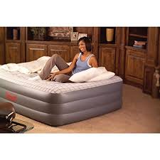 queen size air mattress coleman. Coleman Premium Double High SupportRest Airbed W/Built In Pump Queen Size Air Mattress E