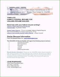 Usa Jobs Resume Sample Trendy Usa Jobs Resume Builder