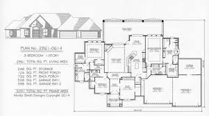Over 2800 SQ 3 Bedroom House PlansFour Car Garage House Plans