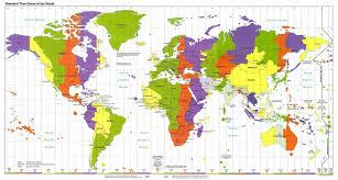 Map Of The World With Latitude And Longitude
