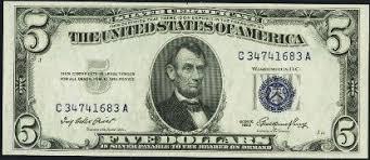 Antique Money Silver Certificates Values Information