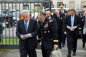 u s department of defense photo essay u s defense secretary chuck hagel left speaks u s army lt gen