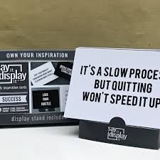 Inspirational Quote Cards Inspirational Sayings Positive Quotes Motivational Quotes Office Decor Daily Quote Life Coach Tool Word Art