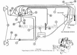 electrical wiring diagram hustler gilbert lawn mower parts 210252 ign switch to ammeter wire ass y
