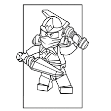 Cool Lego Ninjago Coloring Pages Leuk Voor Kids
