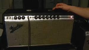 Fender Bandmaster Speaker Cabinet Vintage 69 And 73 Fender Bandmaster Reverb Comparison Youtube